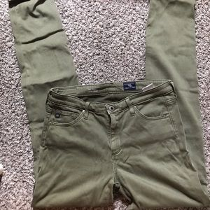 Olive Adriano Goldschmied Pants